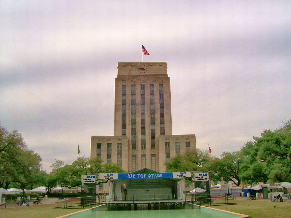 Jerry & Marvy Finger Lecture Series: The 1939 Houston City Hall Architecture and Art by Will Howard