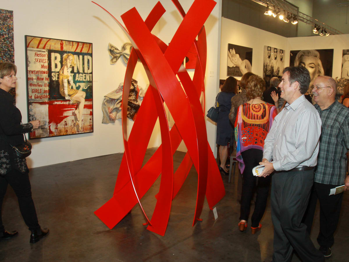 Houston Fine Art Fair Exhibit