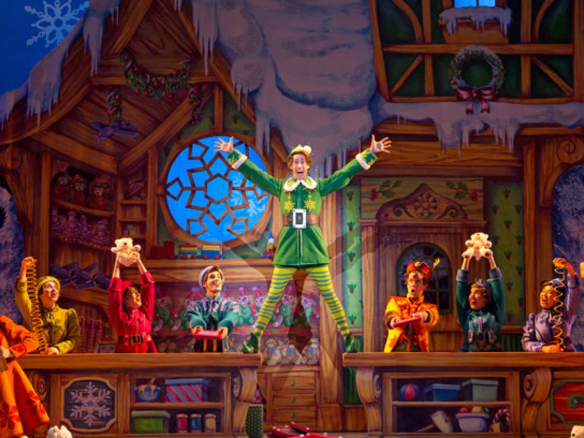 Elf Broadway Musical 2014