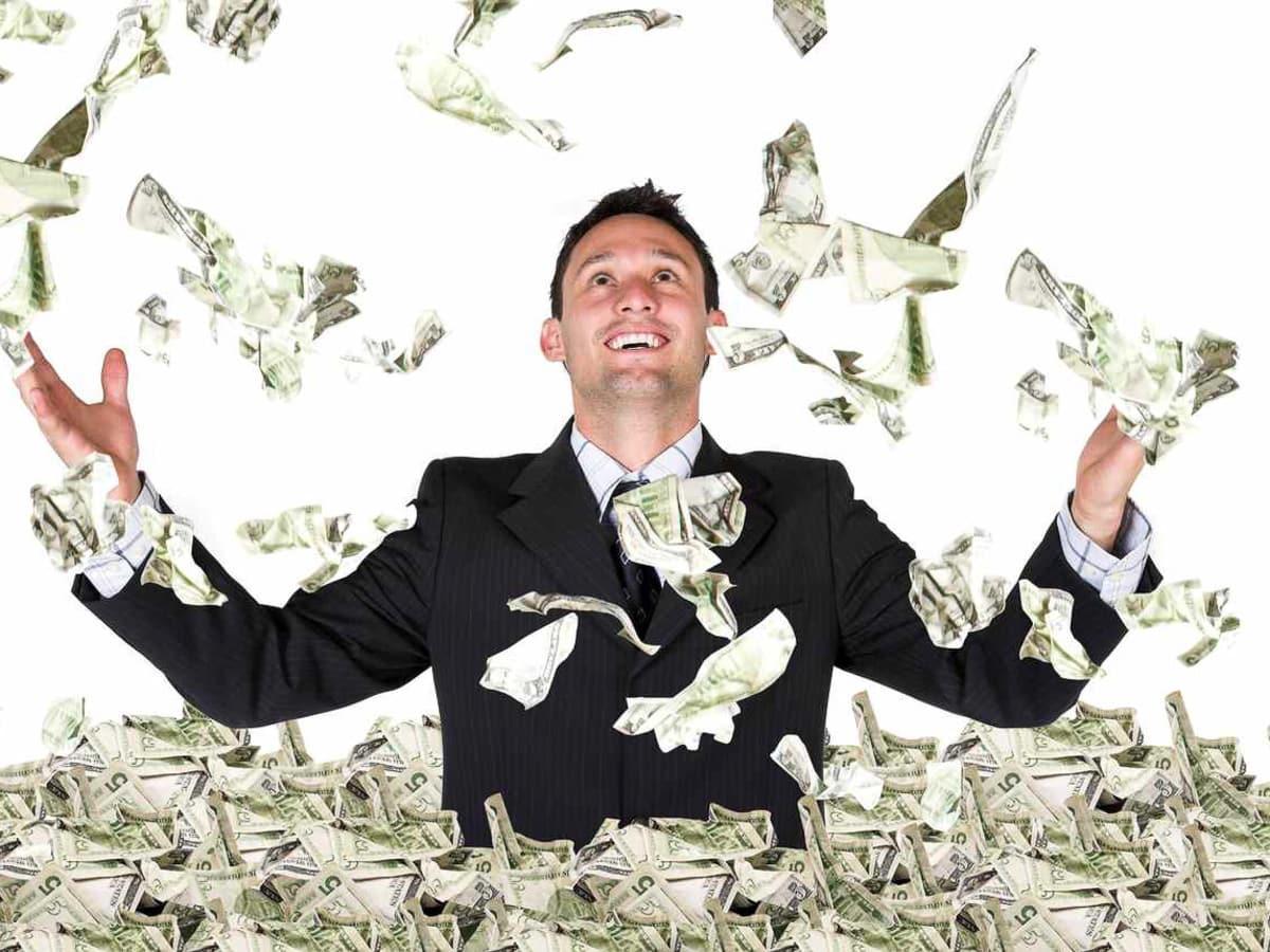 millionaire, money, cash