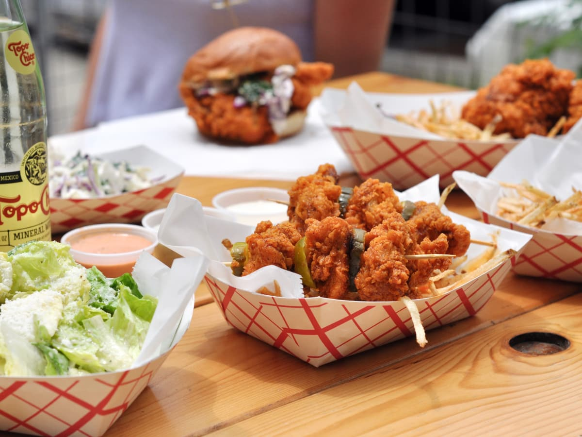 Tumble 22 Hot Chicken food truck