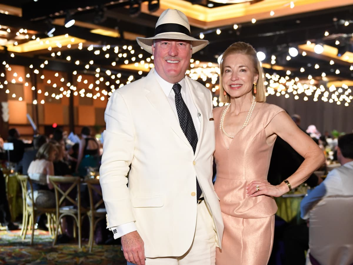 Houston, JDRF Promise Ball Havana Nights, May 2017, Meredith and Fielding Cocke