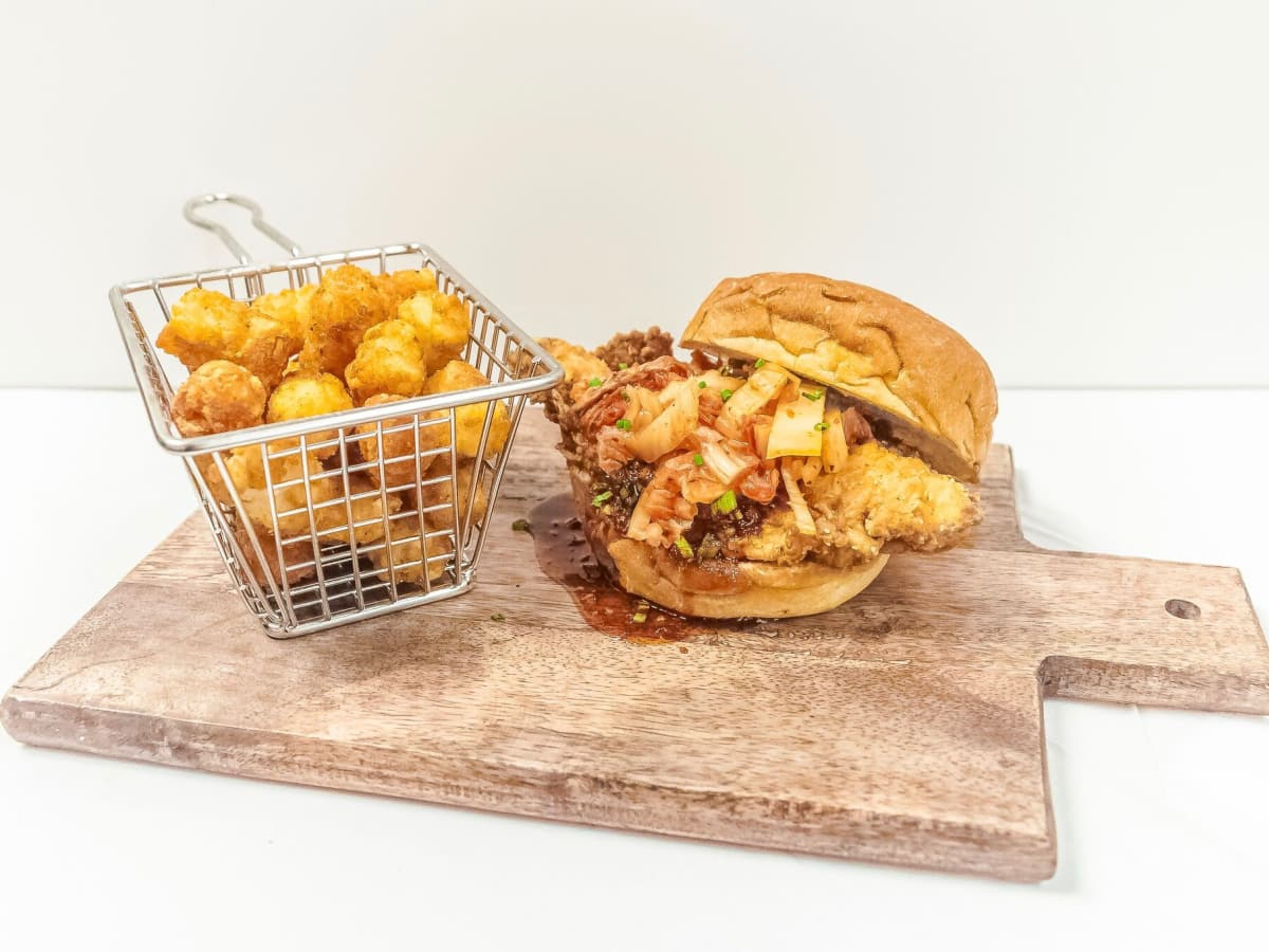 Krisp Bird & Batter Korean sandwich