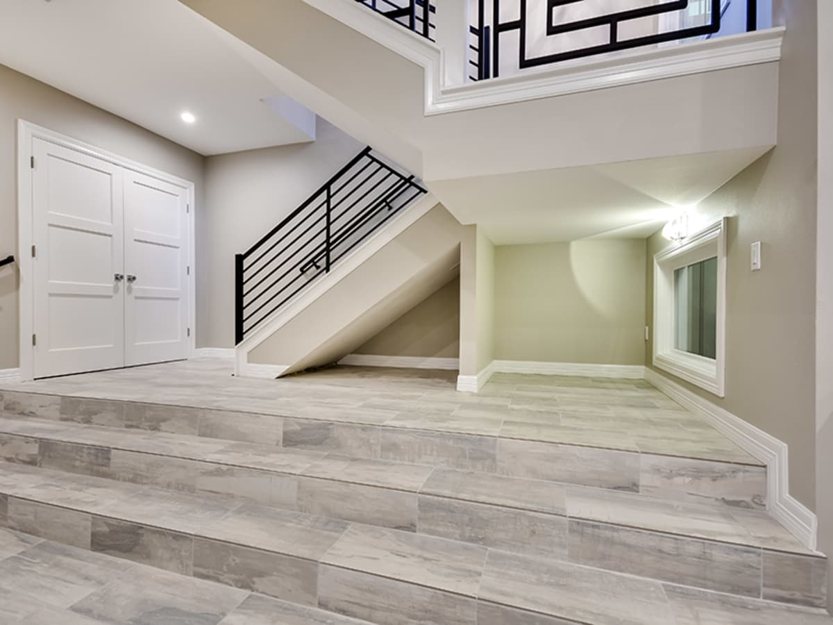 3612 Enfield- Basement Stairs