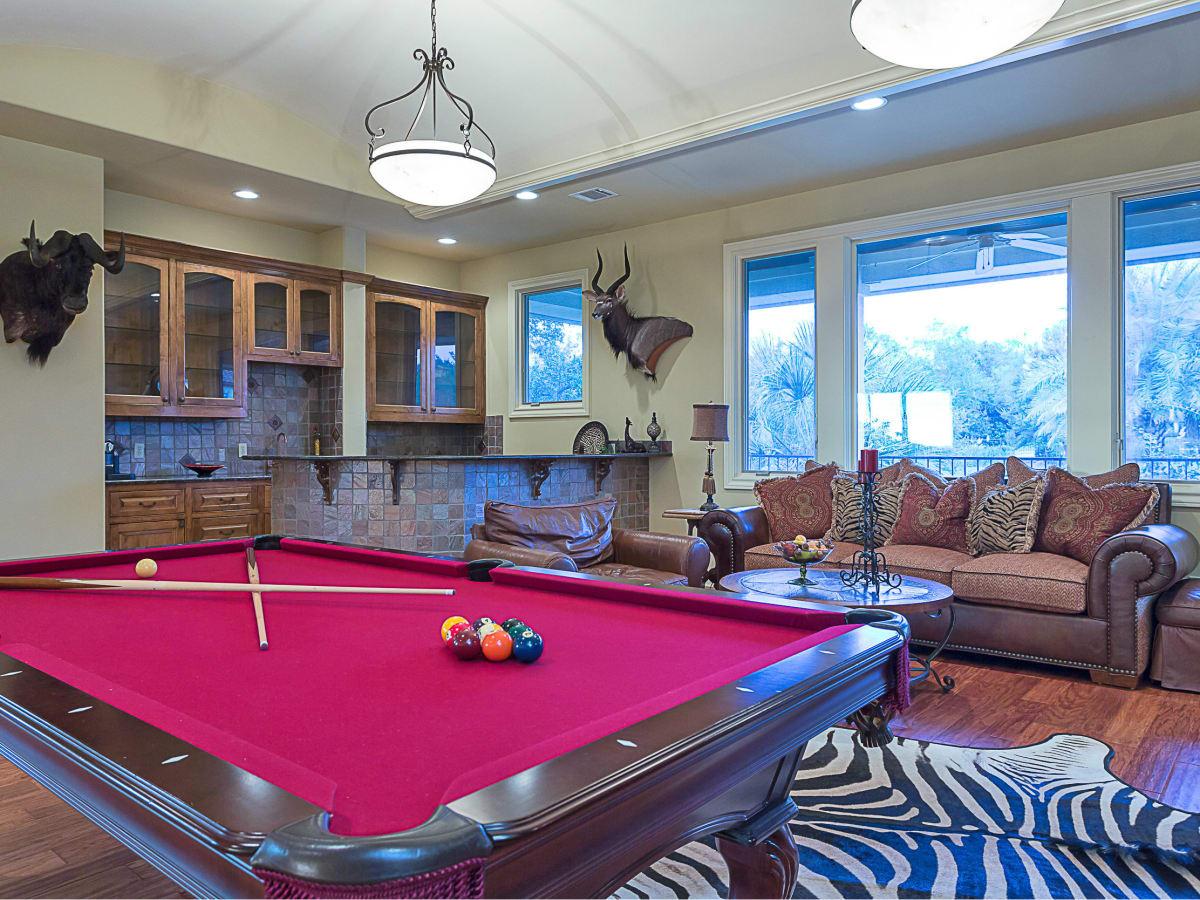 110 Bella Cima Austin house for sale game room