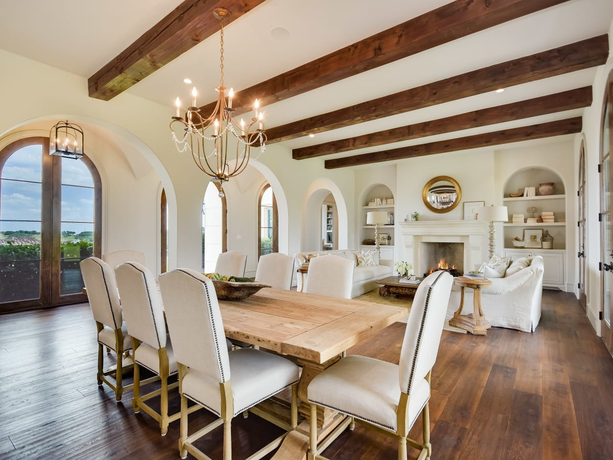 5709 Spanish Oaks Club Austin house for sale dining room