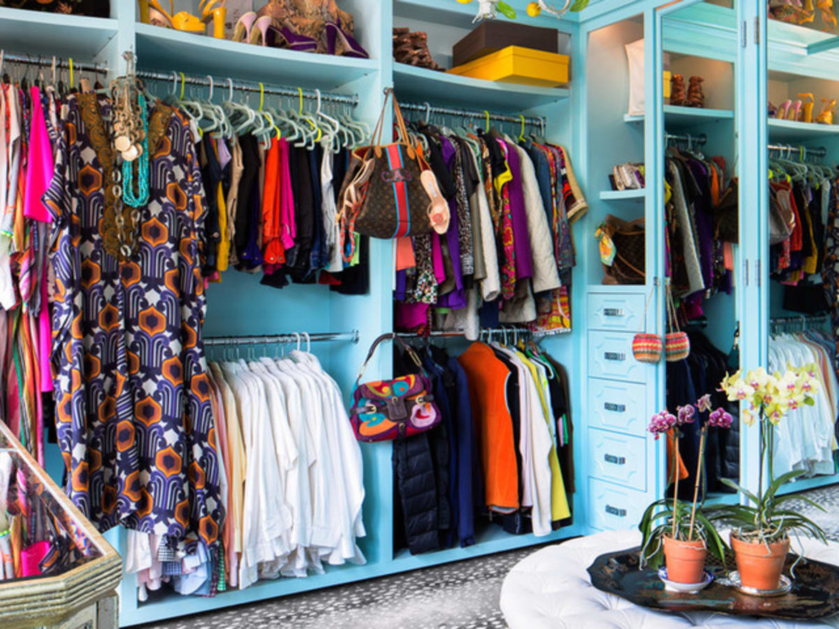 Houzz Houston house home Federalist-Style closet