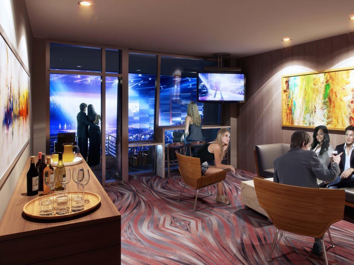 Smart Financial Center suite rendering