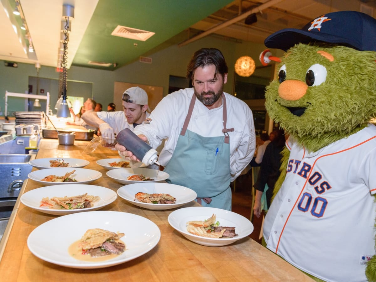 Salty Supper Bryan Caswell Houston Astros Orbit