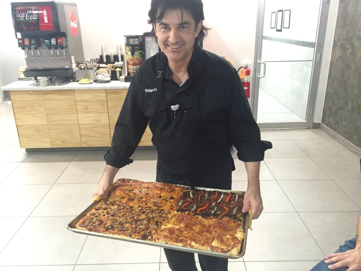 Flo Paris Philippe Schmit pizza