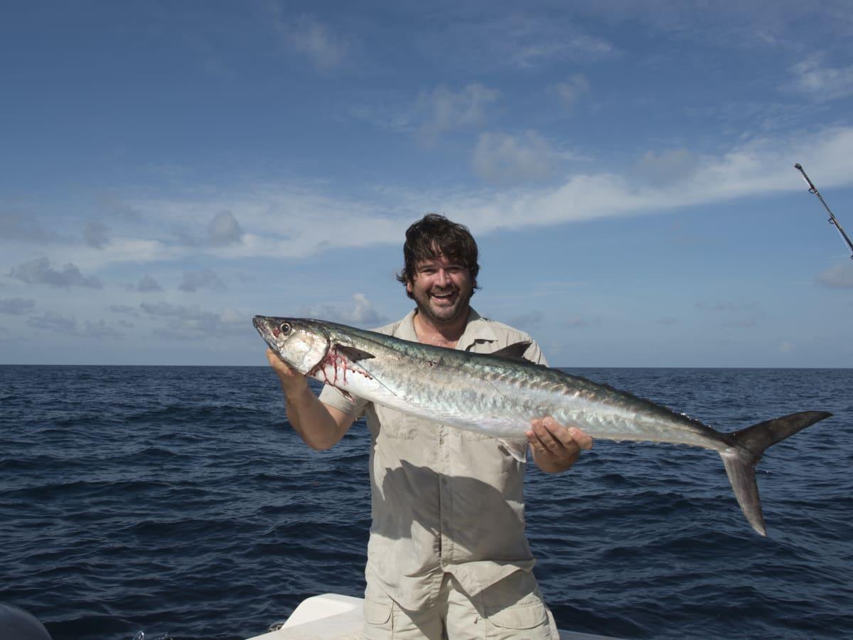 Bryan Caswell with king mackerel