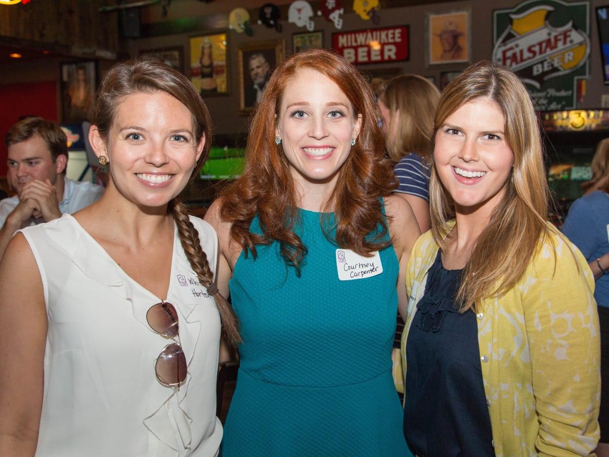 Casa de Esperanza YP event 6/16 Whitney Horton, Courtney Carpenter, Courtney Seng