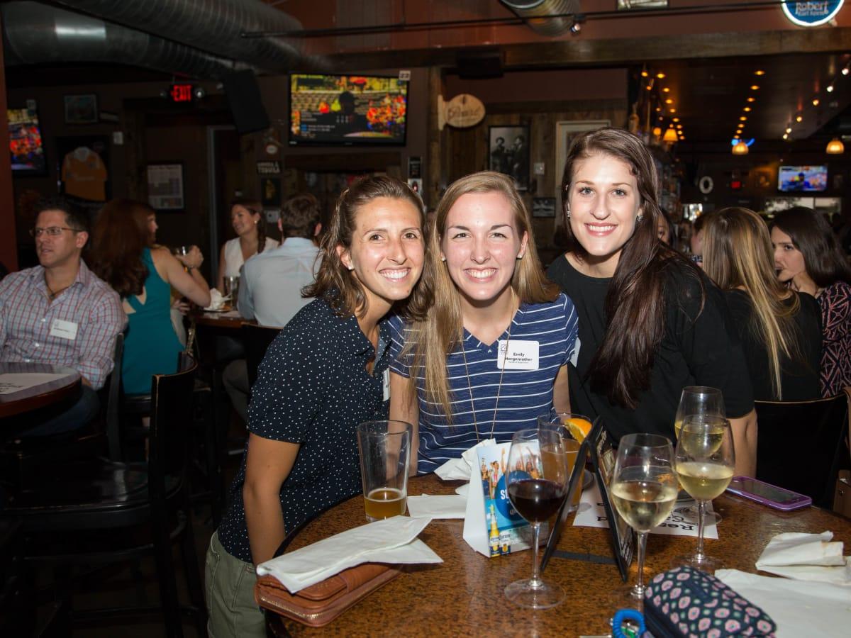 Casa de Esperanza YP event 6/16  Abigail Baer, Emily Hergenrother, Sara Smith