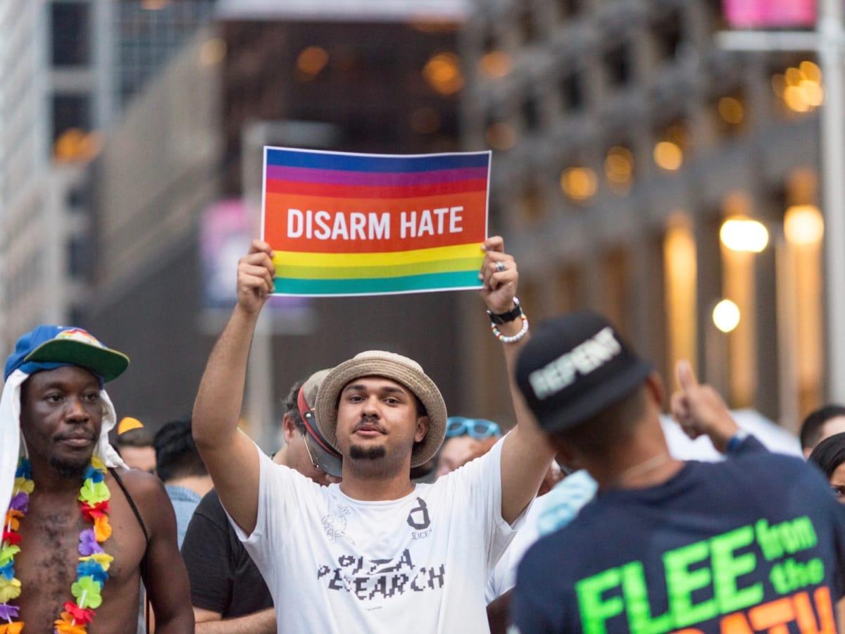 Houston Pride Parade 2016 placard