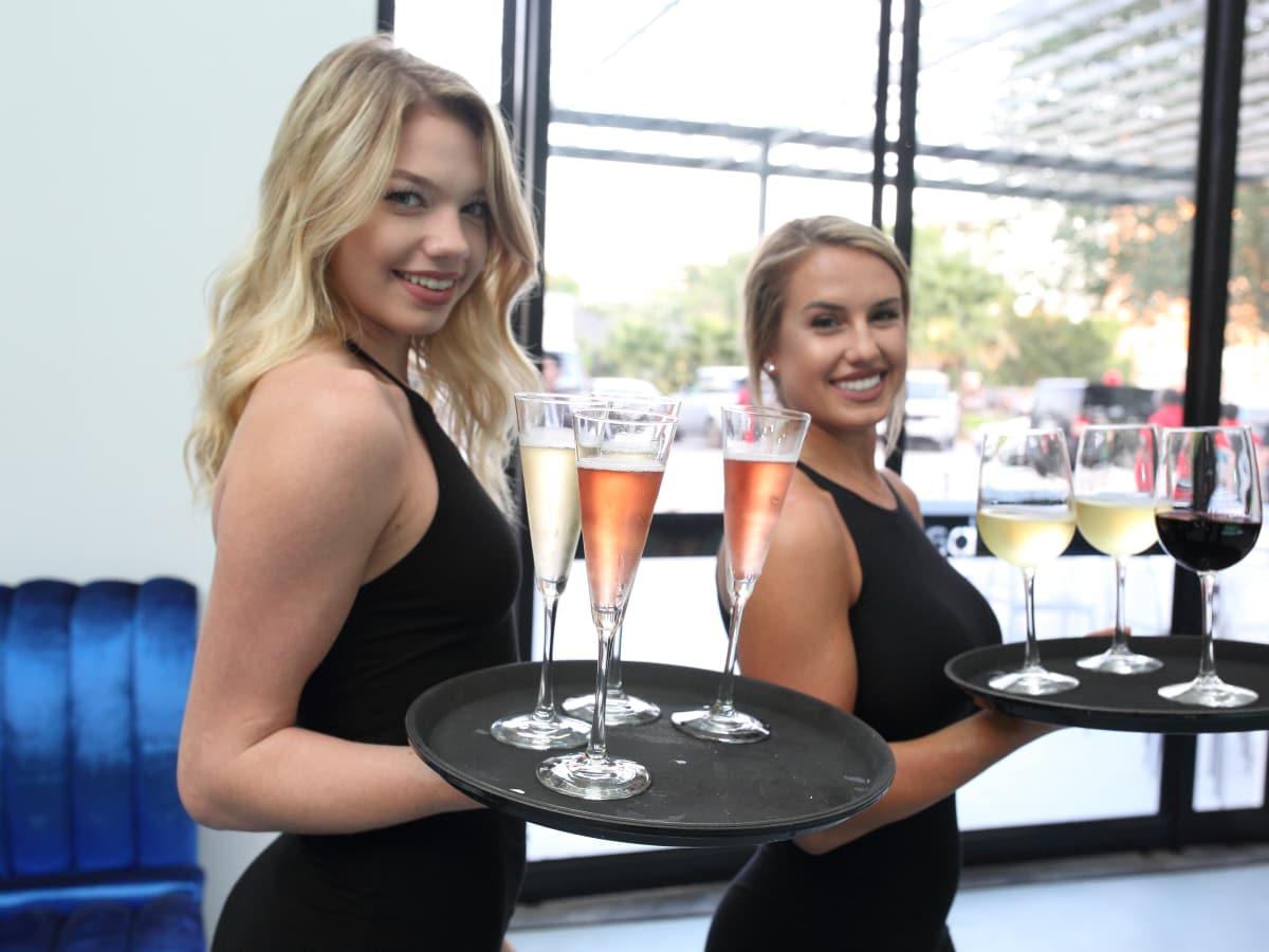 Bar Bleu opening, 6/16,  cocktail servers