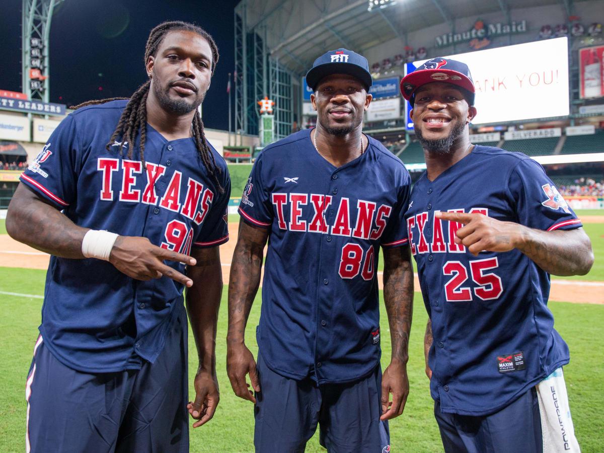 Houston, J.J. Watt Charity Classic, May 2017, Jadeveon Clowney, Andre Johnson, Kareem Jackson