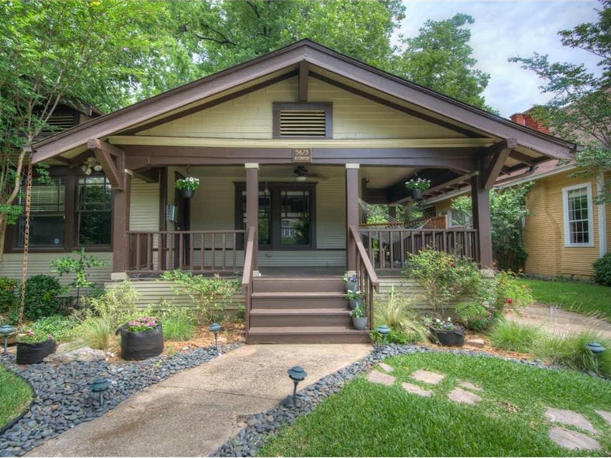 5823 Richmond Ave. Dallas home for sale exterior