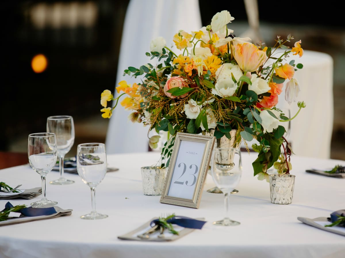 Wedding Maggie Bang and Austen Miller Fredericksburg Boot Ranch table place setting