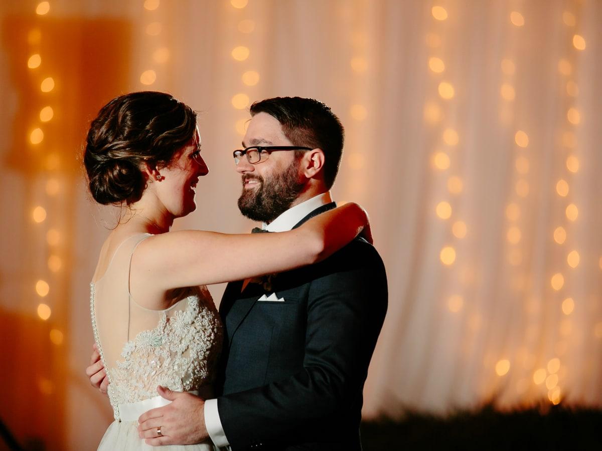 Wedding Maggie Bang and Austen Miller Fredericksburg Boot Ranch bride groom couples dance