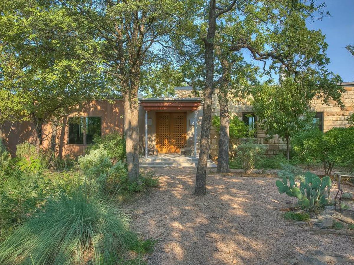 Rocknig W Ranch Front Door