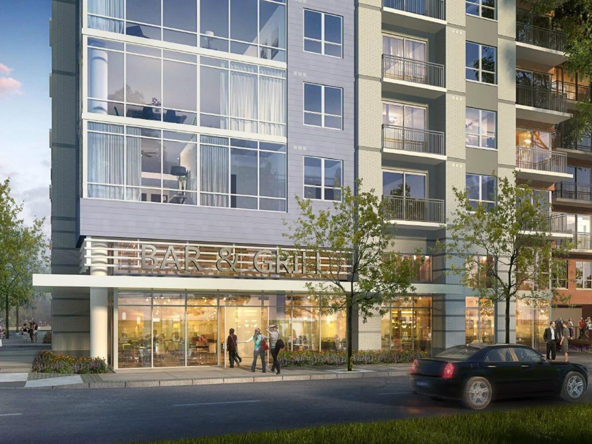 Millennium Rainey Street apartment restaurant