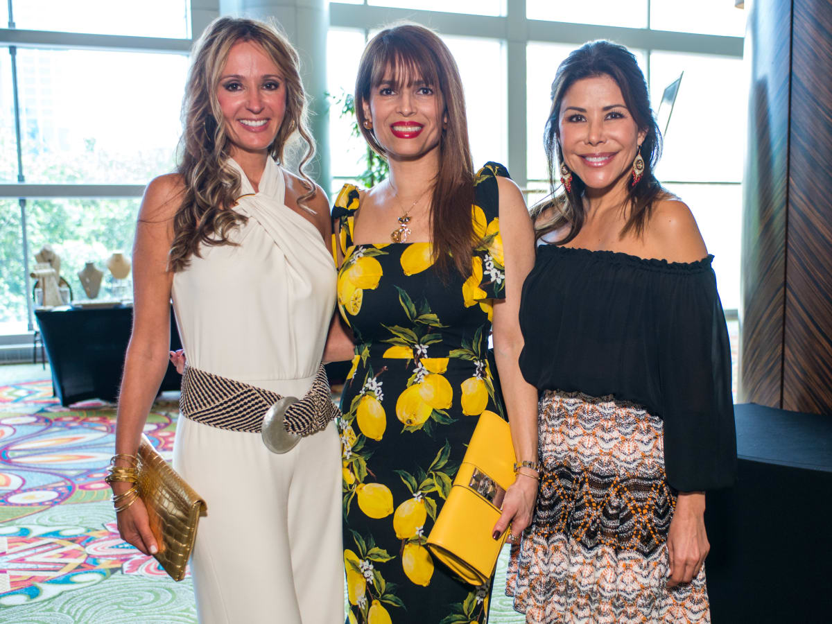 Latin Women's Initiative luncheon 5/16, Cindy Garza, Karina Barbieri, Ericka Bagwell