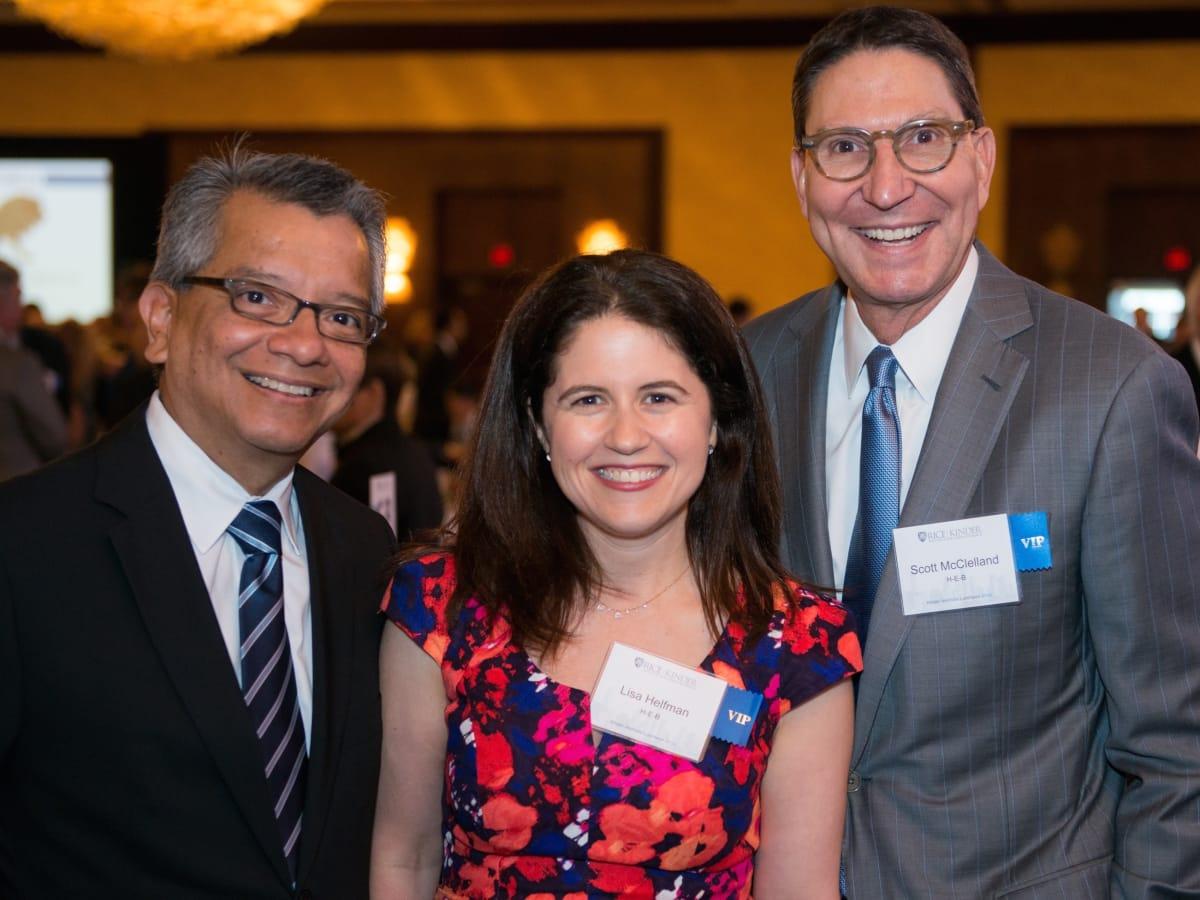 Kinder Institute Luncheon 5/16 David Ruiz, Lisa Helfman, Scott McClelland