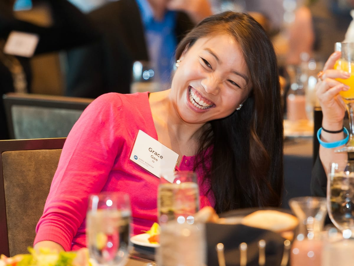 Andry Roddick Foundation Opportunity Matters Luncheon Hotel Van Zandt April 2016 Grace Gee