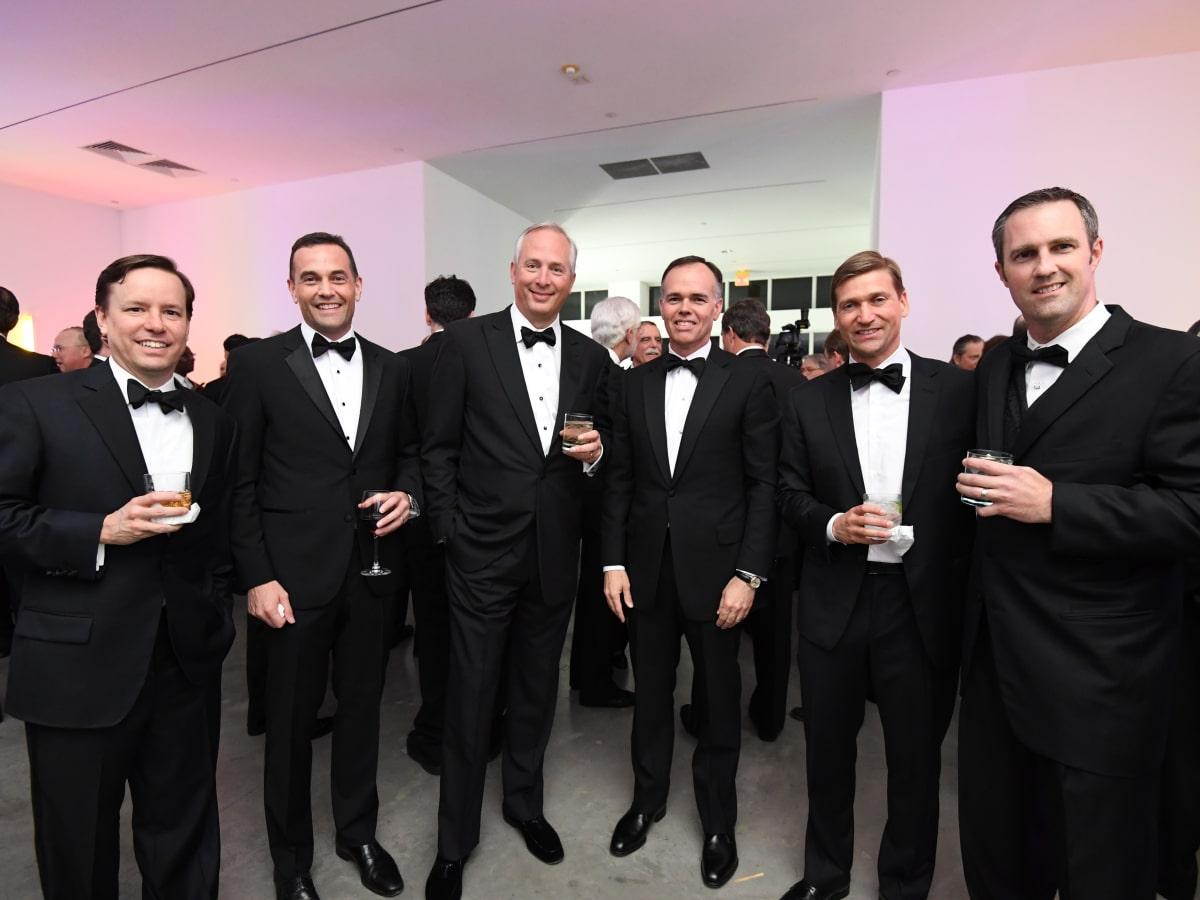 Paul Perea, Joe Karlgaard, Bobby Tudor, Keith Fullenweider, Val Angelkov, and Walker Moody at Men of Menil 2016