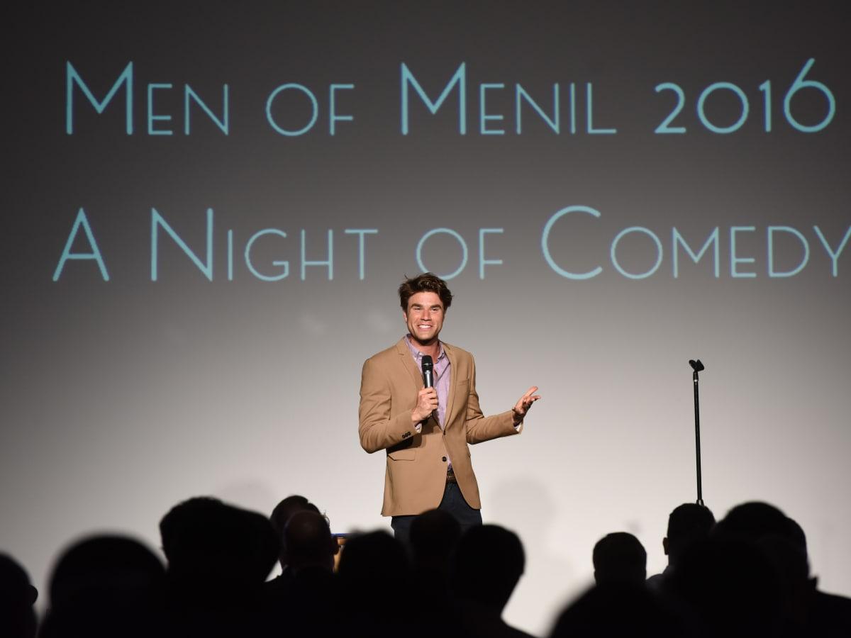 Men of Menil 2016 Opening Act, Comedian Matthew Broussard