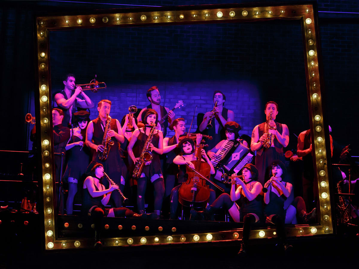 The Kit Kat Club band in Cabaret