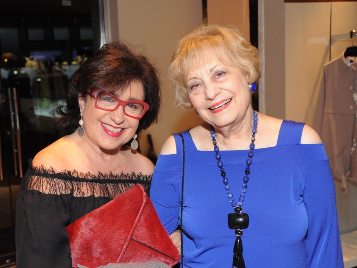 Roz Pactor, Kay King at Passion for Fashion party at Elizabeth Anthony
