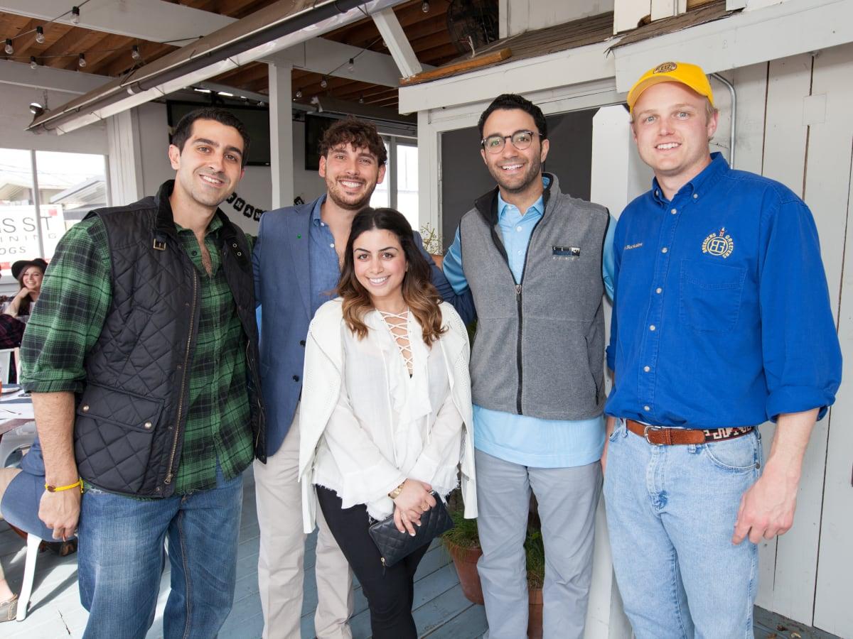 durham House brunch, March 2016, Andyshea Saberioon, Ricky Johnston, Rania Amin, Arash Roozbeh, Austin Buckalew
