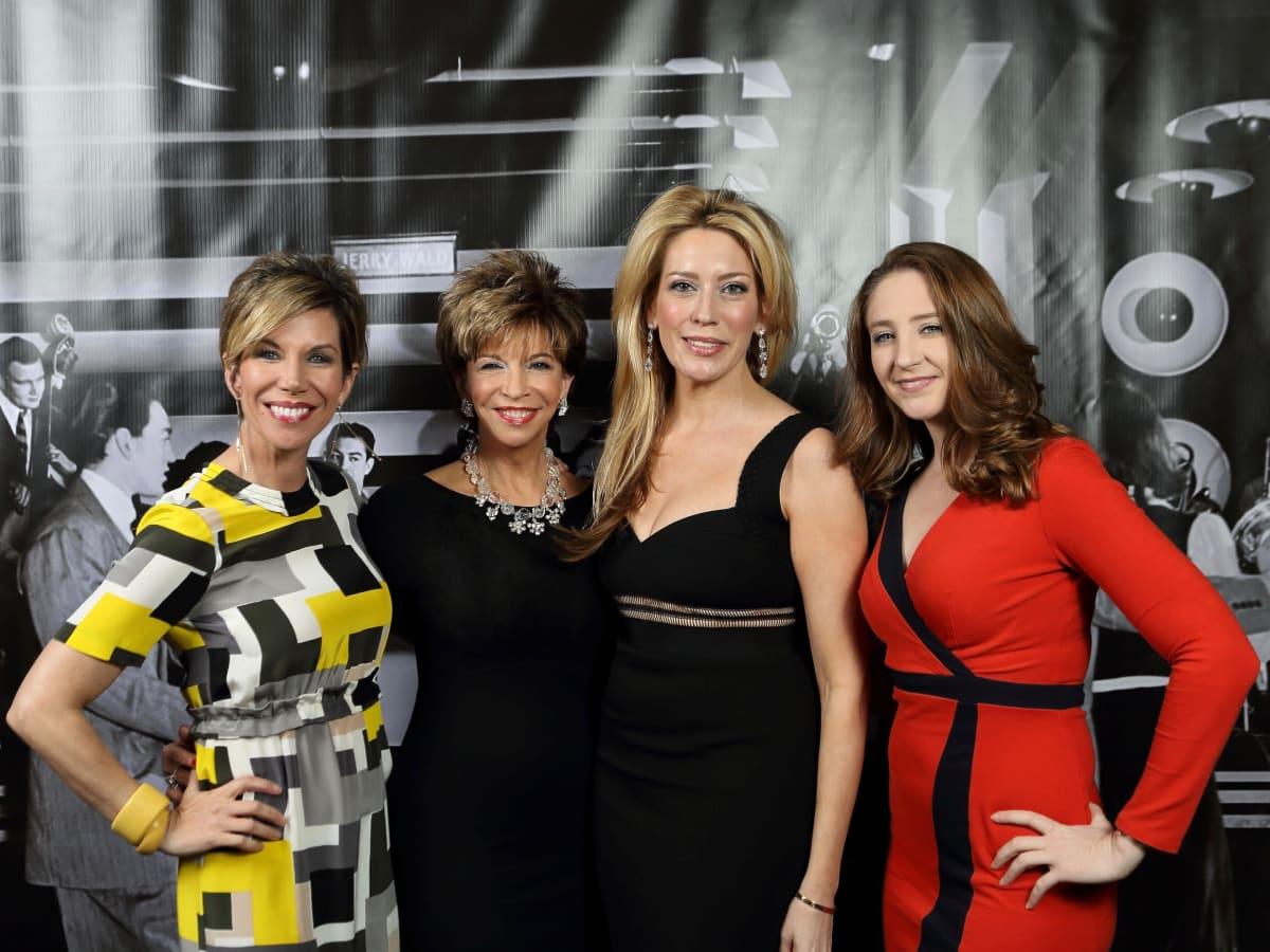 Roseann Rogers, Vicki Rizzo, Mauri Oliver, Angela Sturm at Stages Gala