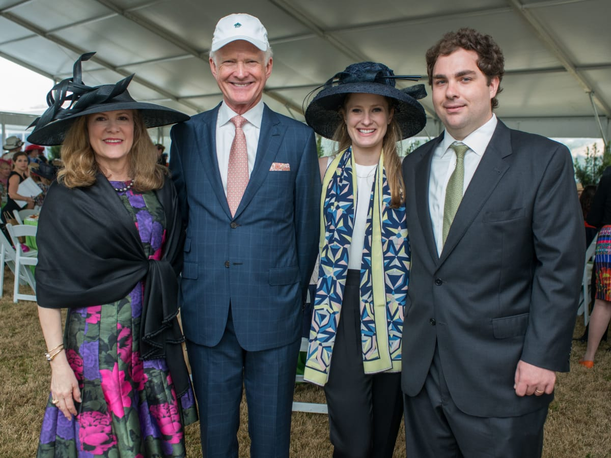 Hats in the Park, March 2016, Linda Hunsaker, Barry Hunsaker, Kelly Leonard, David Leonard