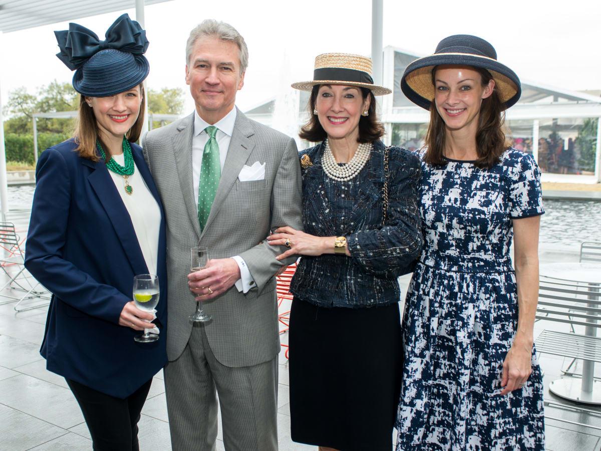 Hats in the Park, March 2016,  Annie Eifler, Sanford & Susie Criner, Kate Bellin
