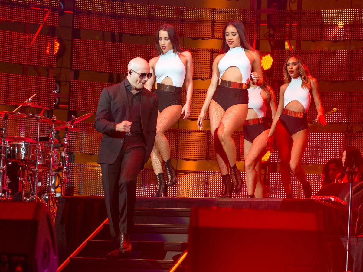 Pitbull at Houston Rodeo