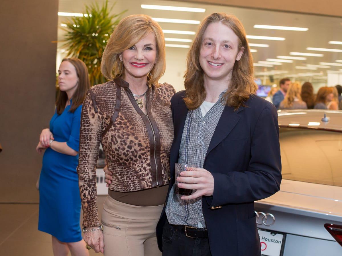 Cattle Baron's Fashion Show, March 2016, Diane Cain, Jason Calvin