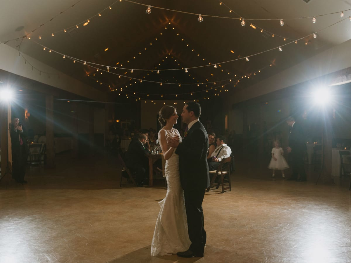 Heritage House wedding first dance