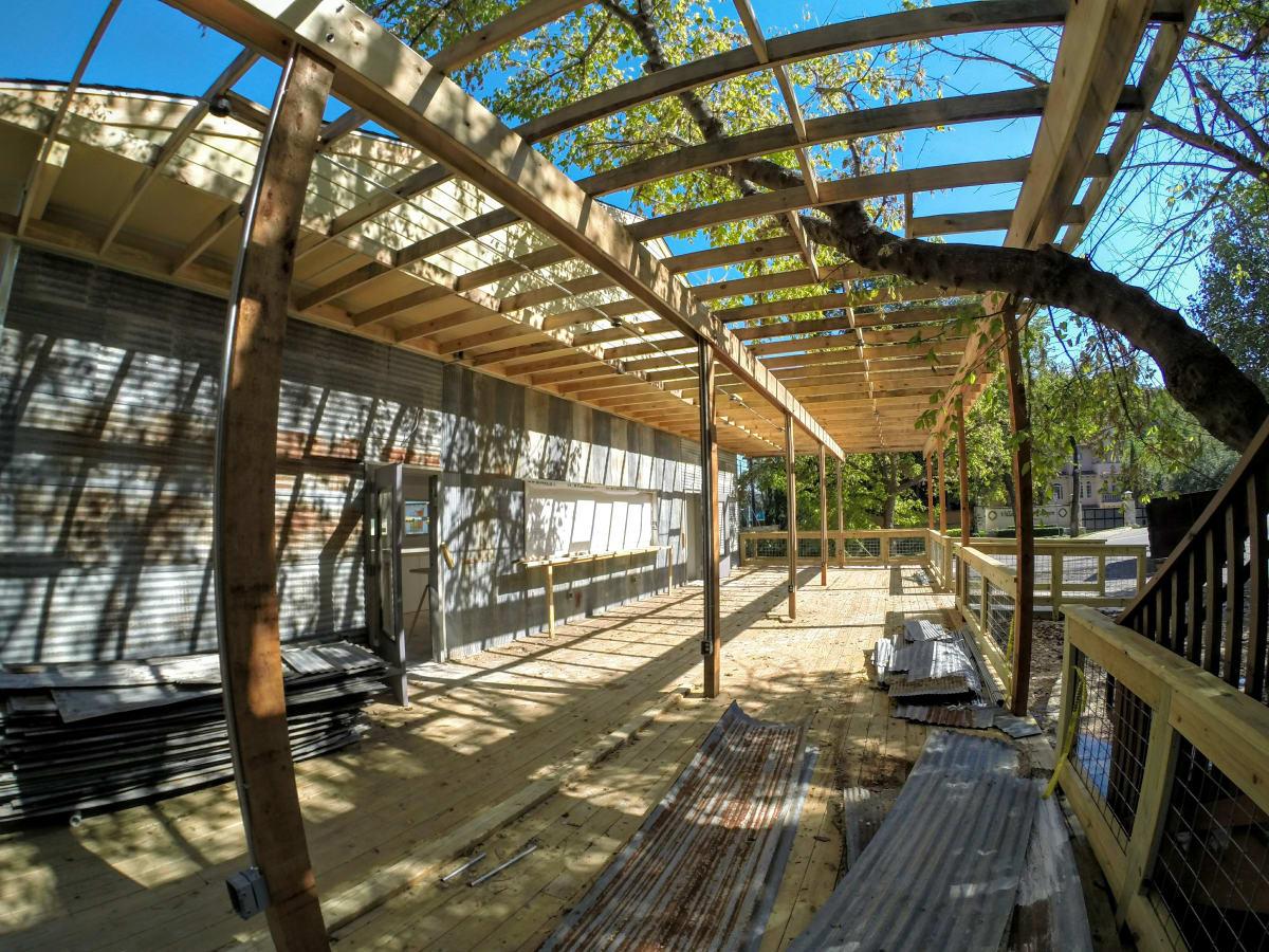 SquareRut Kava Bar patio