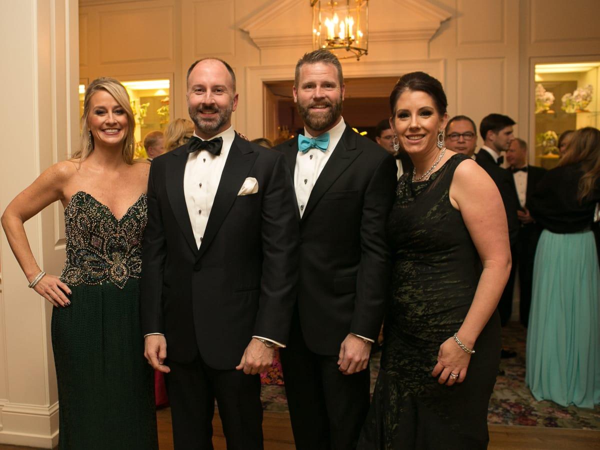 Junior League Gala, Feb. 2016, Amy Dunn, Kevin Black, Tony Bradfield, Mary Margaret Foerester