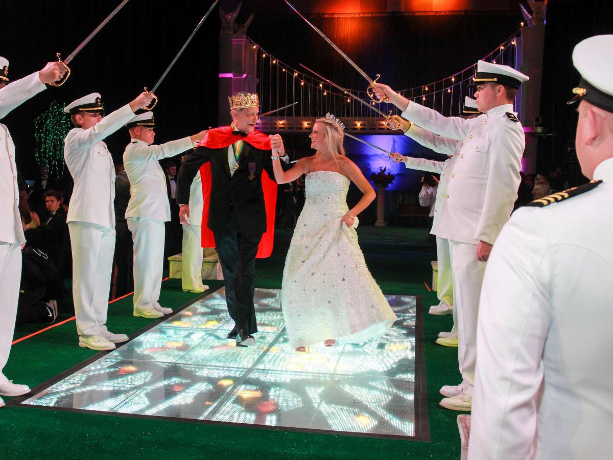 San Luis Salute, Feb. 2016, King Frivolous Tom Daly, Queen Jordan Raschke