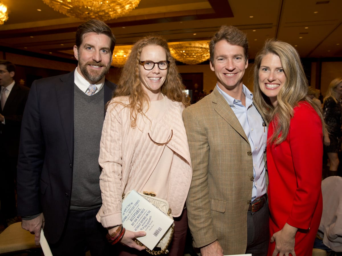 Bo's Place Luncheon, Feb. 2016, Davis Rushing, Katie Rushing, Ryan McCord, Devin McCord