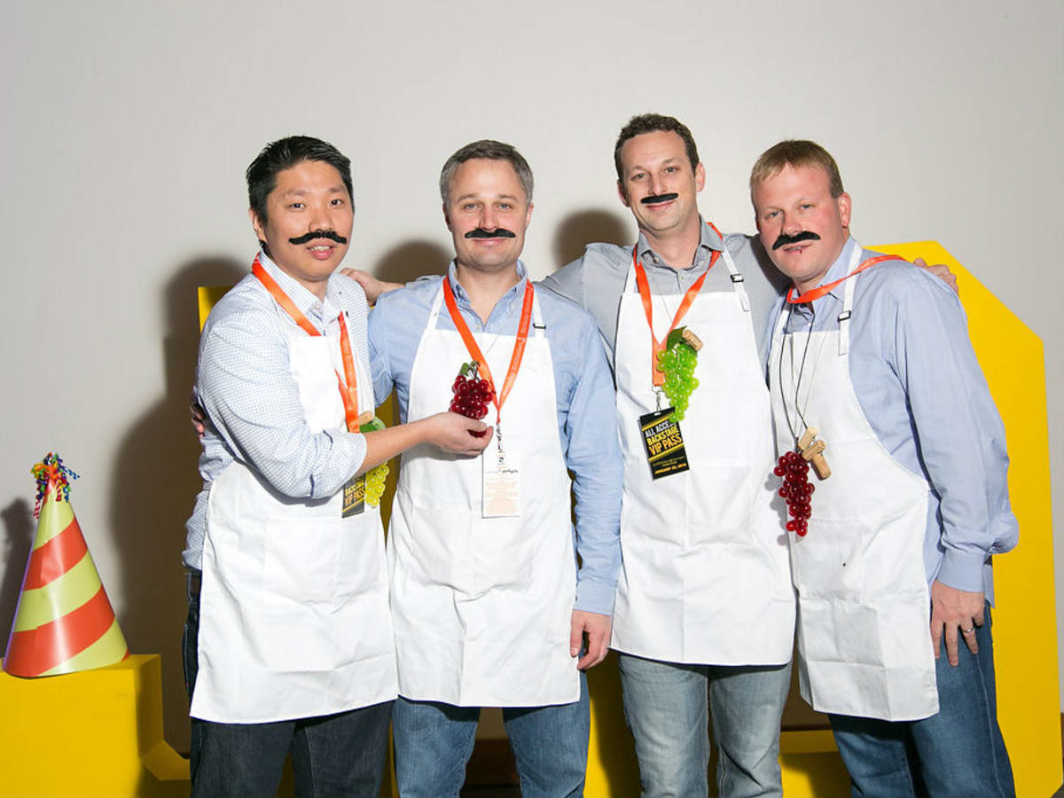 Soohucu Chun, Jeff Kert, Doug Hamilton, Greg McGuffin