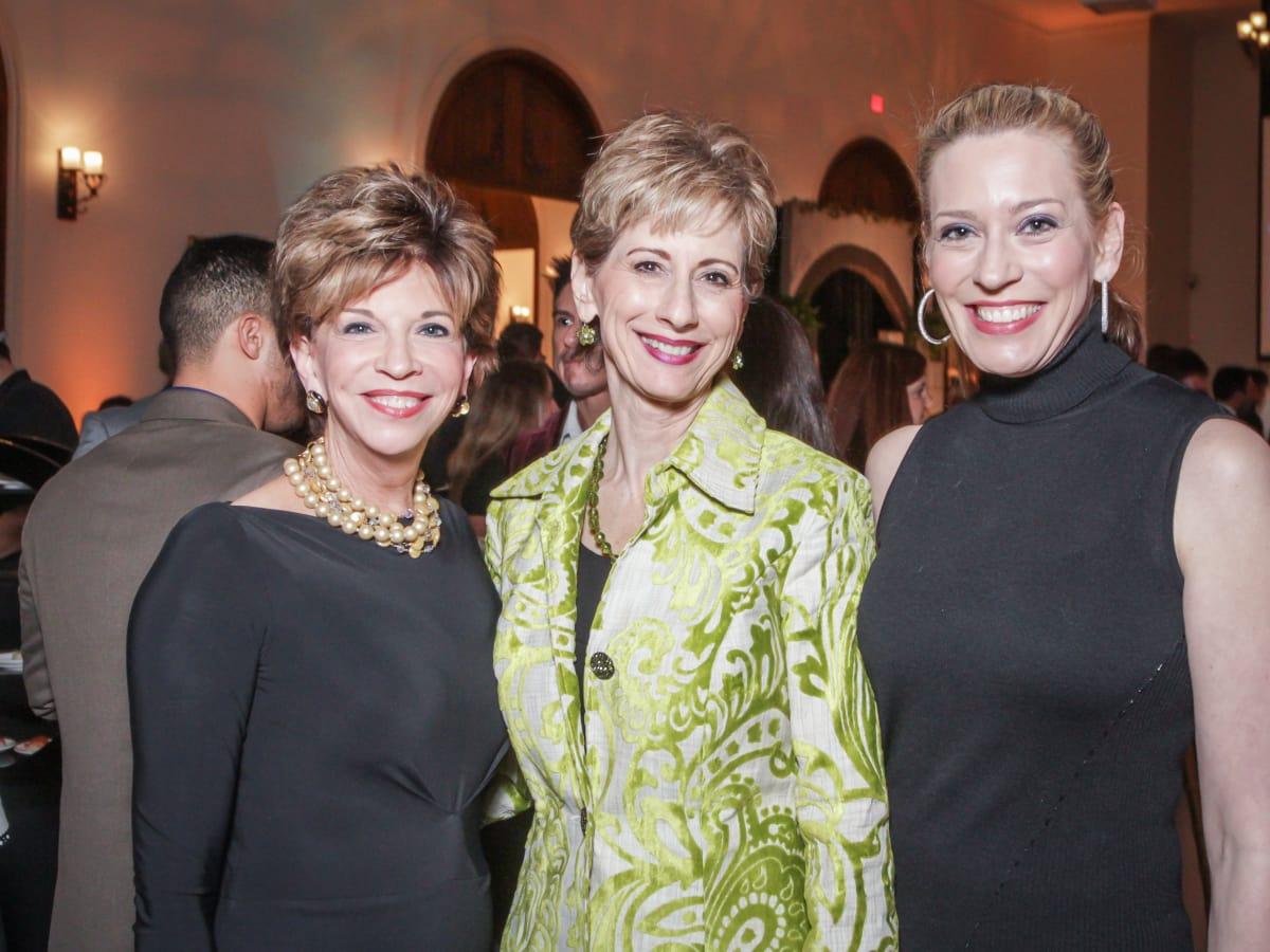 Houston, Social Book 2016 Launch Party, January 2016, Vicki Rizzo, Linda Kuykendall, Mauri Oliver