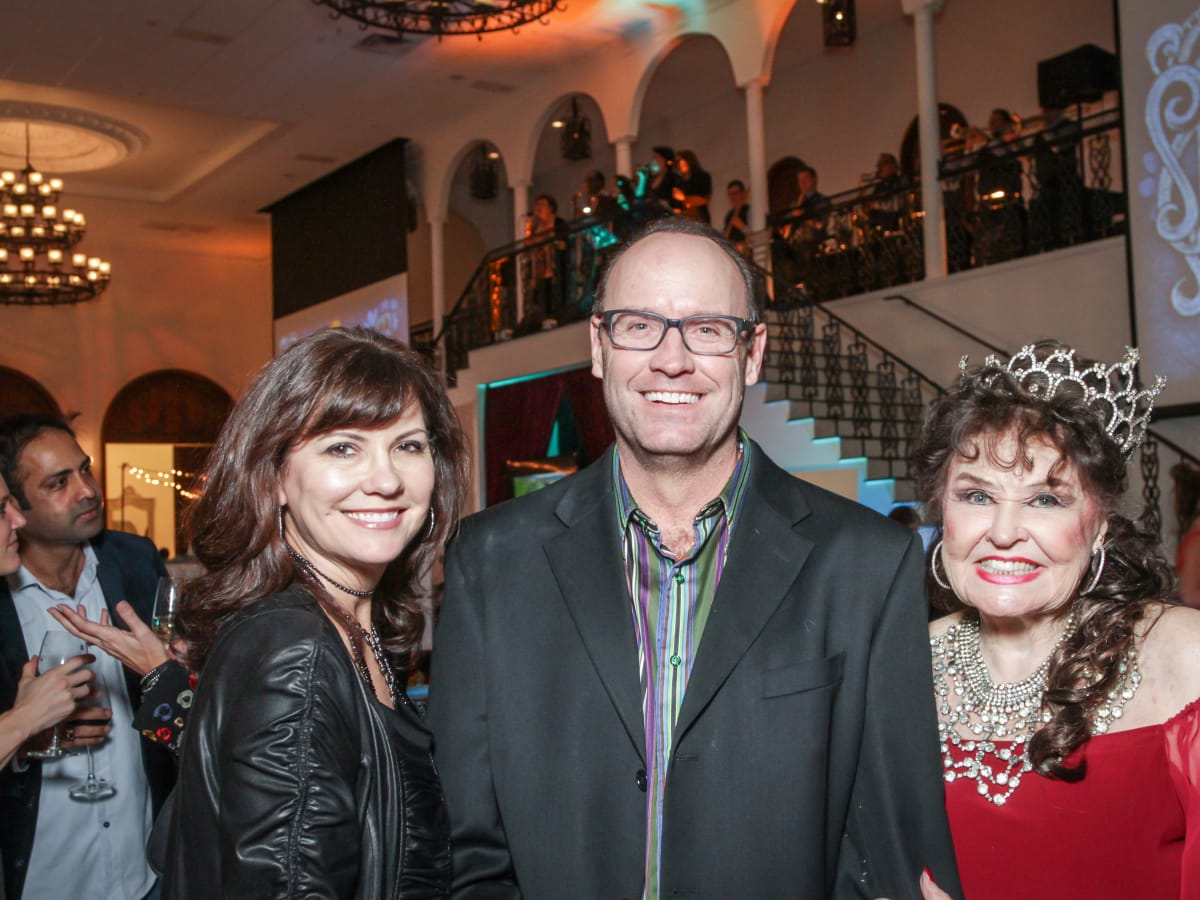 Houston, Social Book 2016 Launch Party, January 2016, Angie Roberts, Cliff Roberts, Warner Roberts