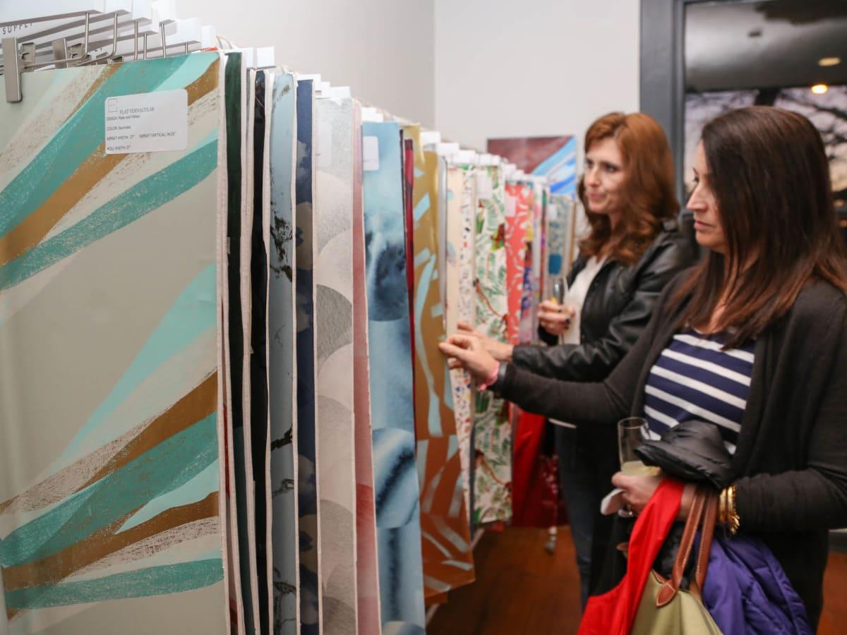 TRIBEZA Interiors Tour 2016 Kickoff at SUPPLY Showroom Leah Paulo Christi Savarse