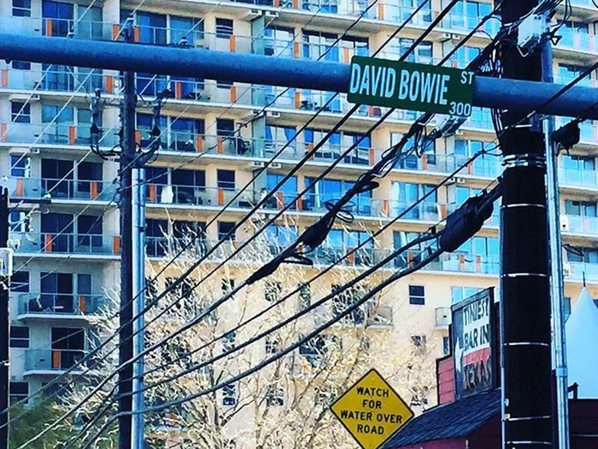 David Bowie Street downtown Austin name change January 2015