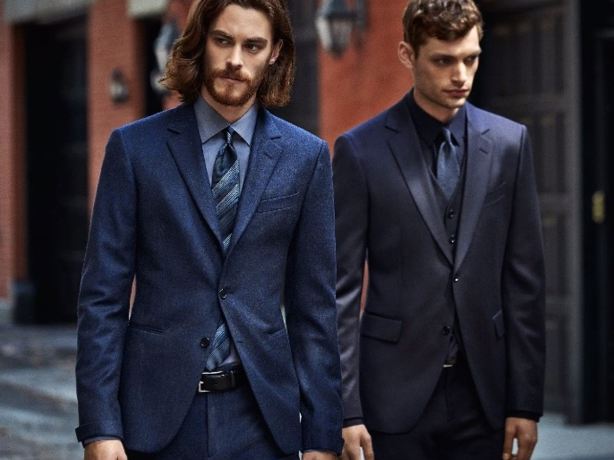 John Varvatos dark suits