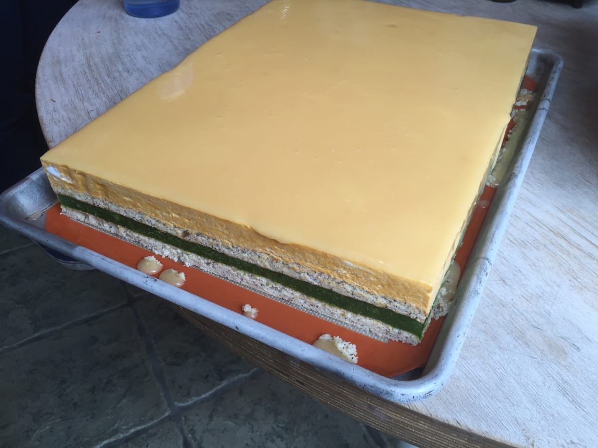 Oxheart Meadowood Karen Man carrot cake